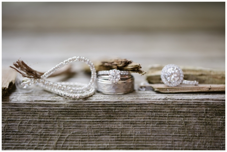 Photographing wedding rings