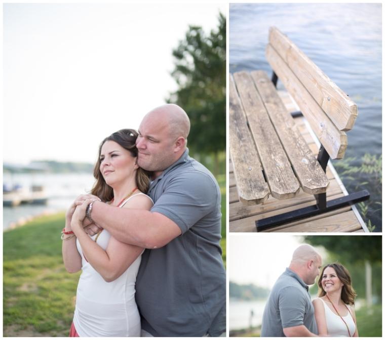 lakehouse engagement photography