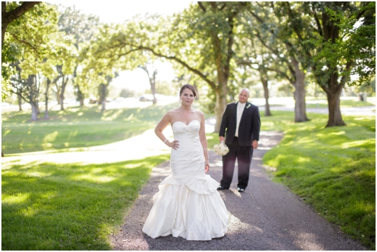 glen oaks country club wedding